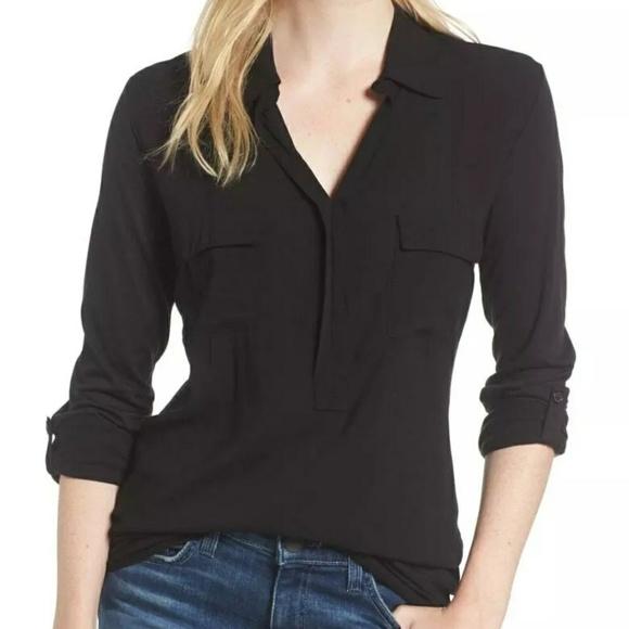Splendid Tops - Splendid two types material popover shirt  Size S
